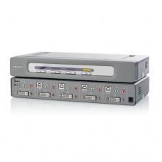 OMNIVIEW SECURE 4PORT KVM EAL4 DVI
