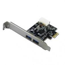 TARJ PCI-EX 2 PORTE USB 3.0