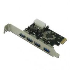 TARJ PCI-EX 4 PORTE USB 3.0