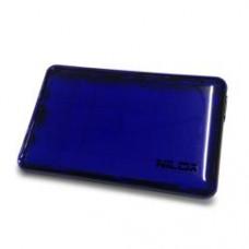 BOX USB 3.0 2.5P BLU TRASPARENTE