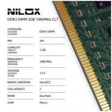 RAM DDR3 DIMM 2GB 1066MHZ CL7